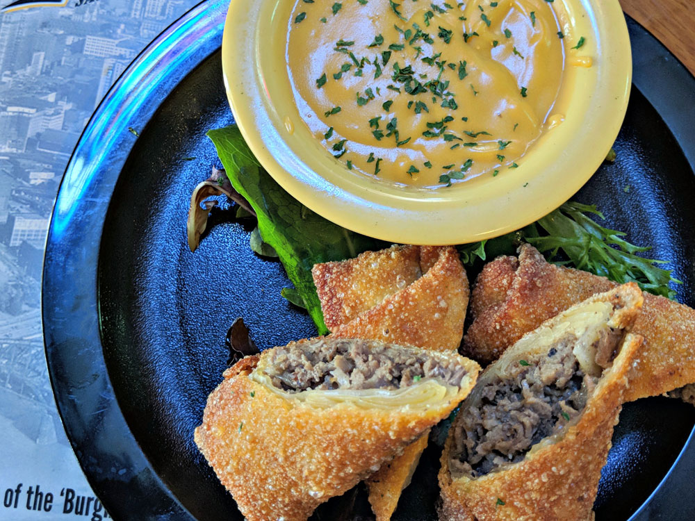 Buxys Cheese Steak Rolls